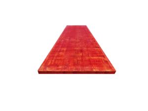 Płyta szalunkowa trójwarstwowa nieokuta czerwona II gatunek