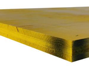 Płyta szalunkowa trójwarstwowa nieokuta żółta II gatunek