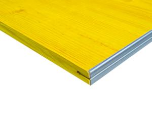 Płyta szalunkowa trójwarstwowa okuta typ E żółta