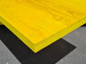 Płyta szalunkowa trójwarstwowa nieokuta żółta