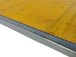 Płyta szalunkowa trójwarstwowa okuta typ C żółta