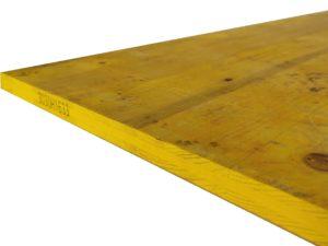 sklejka budowlana okuta typ C żółta